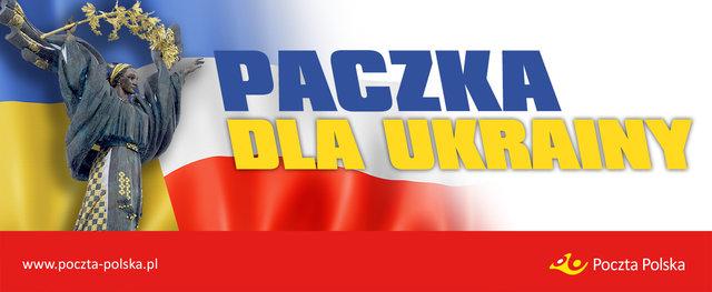 """Poczta Polska: rusza akcja paczka """"DLA UKRAINY"""""""